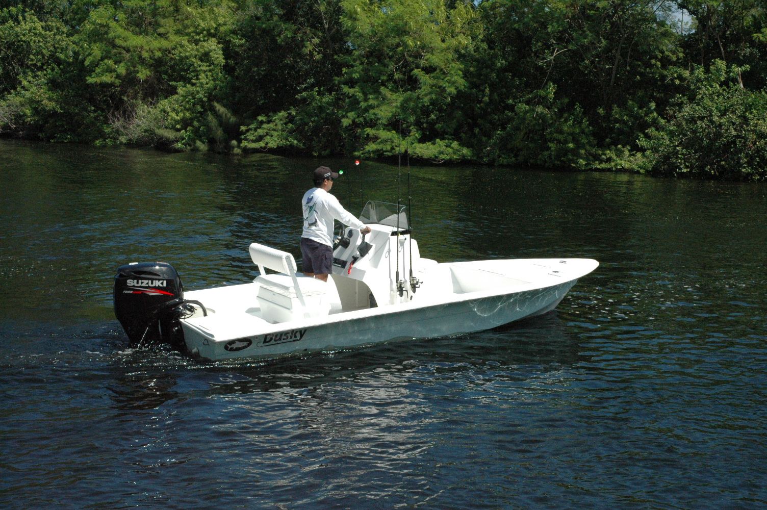 dusky marine custom built offshore shallow water
