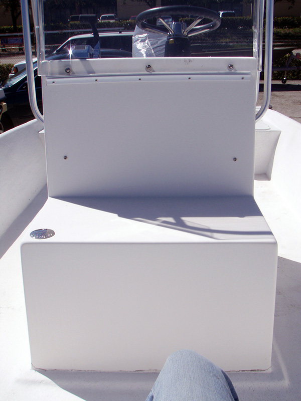 How to clean the inside of a boat fuel tank