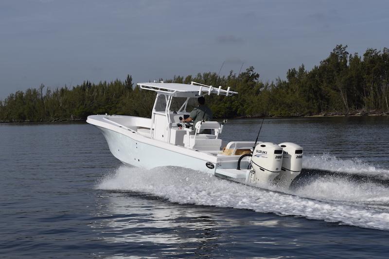 Dusky Marine Custom Built Offshore Amp Shallow Water