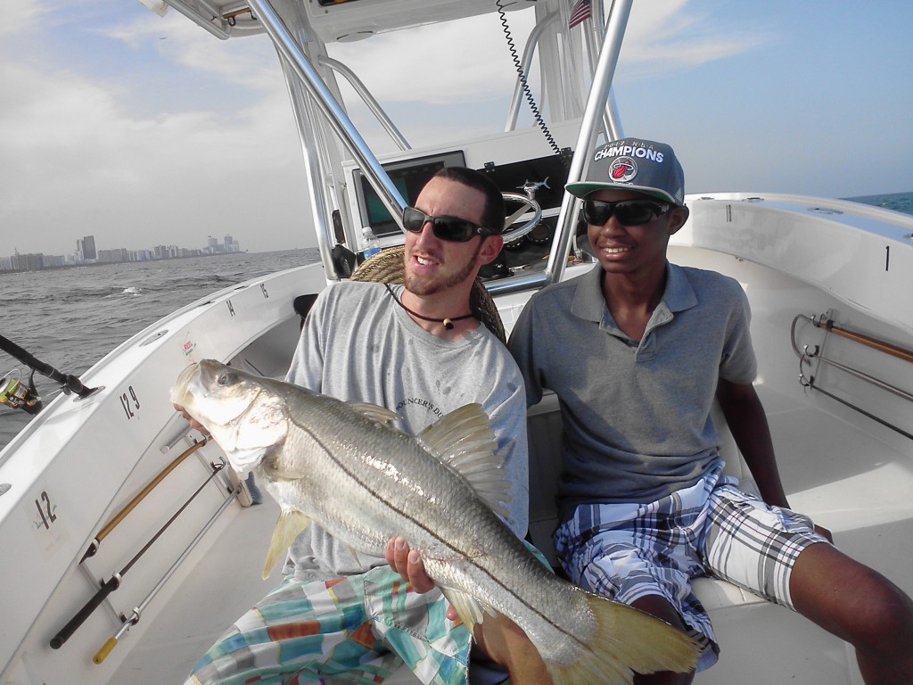 Bouncer's Dusky 33 Fish To Make A Difference