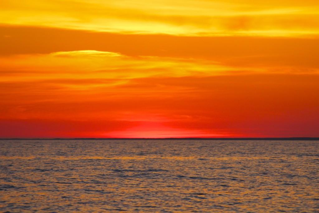 Sunrise over Cape Cod, MA